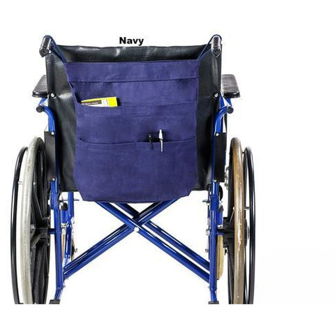 Granny Jo Products: Rear Hanging Wheel Chair Bag - 1205 - Navy Color
