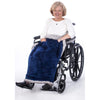 Granny Jo Products: Heavyweight Chair Blanket - Blue/Grey Color
