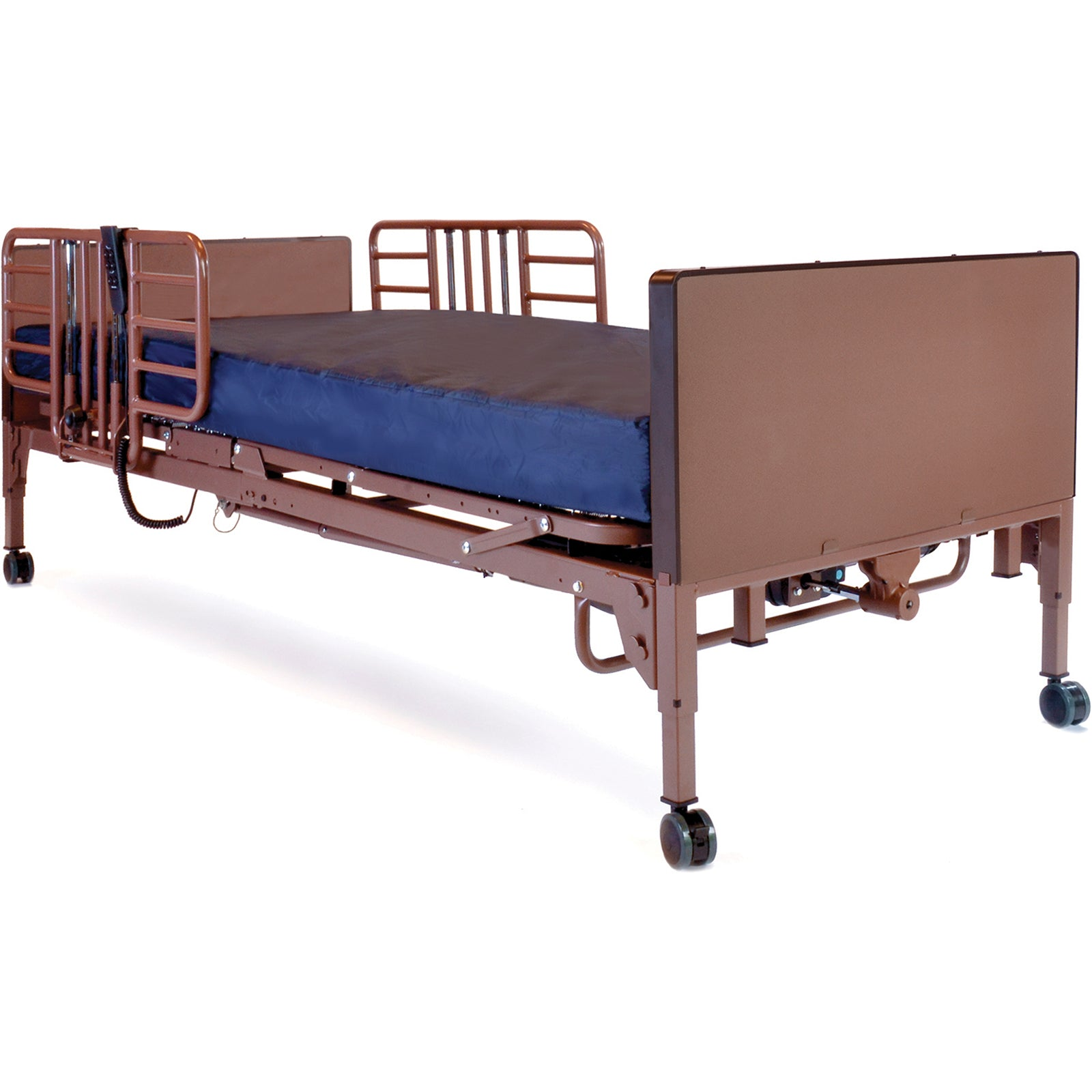 Compass Health: ProBasics Full Electric Bed w/ Probasics Low Bed Ends - PBFE-HRGP1PKG