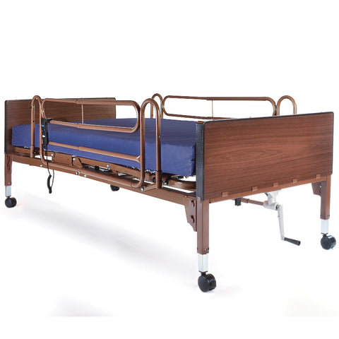 Compass Health: PROBASICS SEMI-ELECTRIC PKG W/ FULL RAILS & FIBERCORE MAT - PBSMB-FRFCPKG