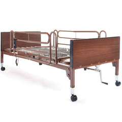 Compass Health: PROBASICS SEMI-ELECTRIC BED W/ FULL RAILS, SINGLE MOTOR - PBSMB-FR