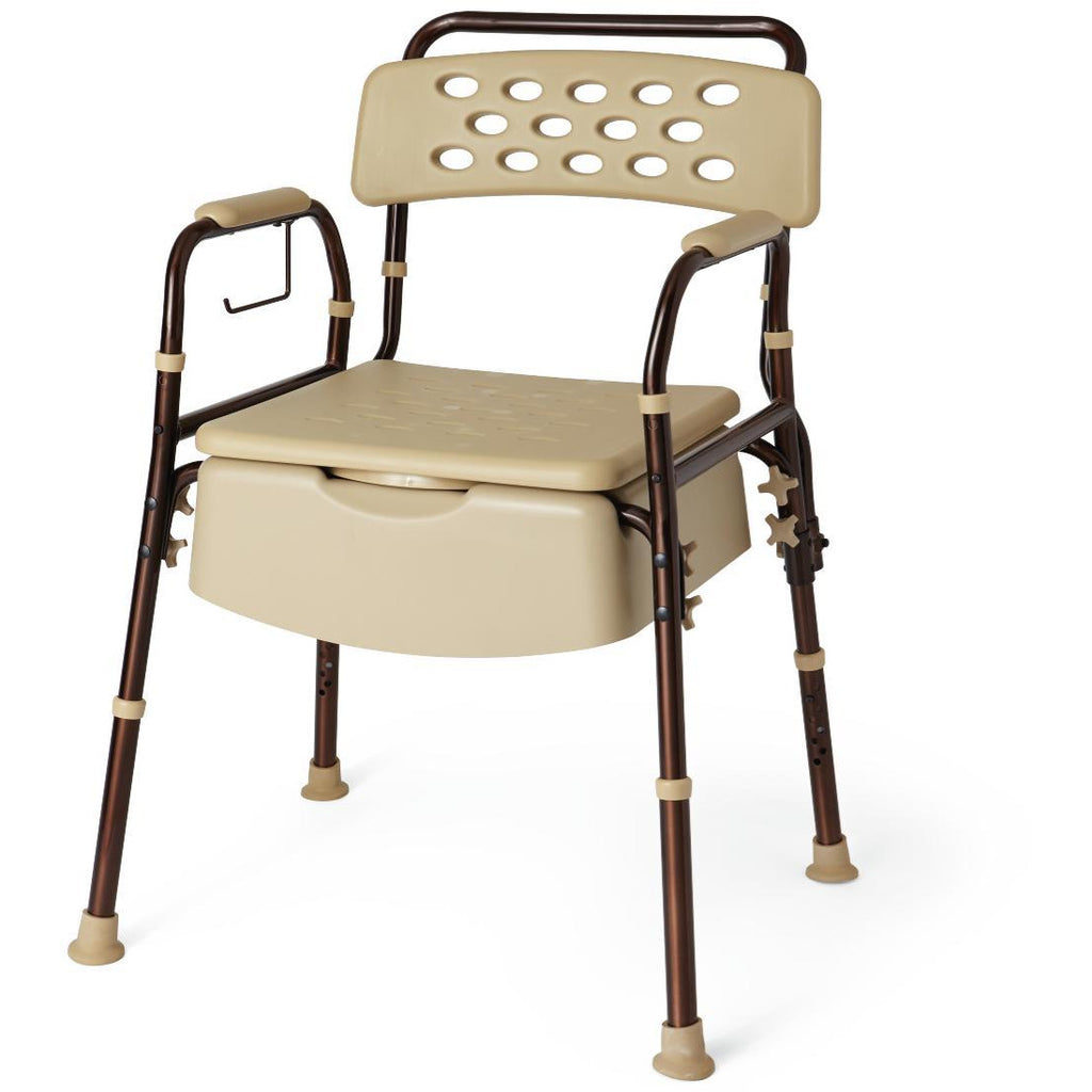 Medline: Bedside Commode with Microban
