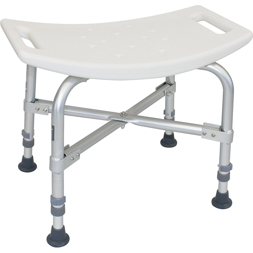 Compass Health: ProBasics Bariatric Shower Bench without Back 500 lb Weight Capacity, Sold 2/cs - BSBC