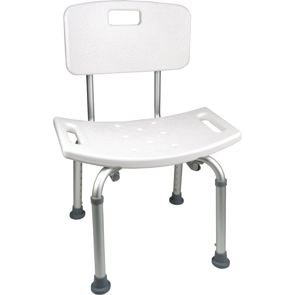 Compass Health: ProBasics ProBasShower Chair with Back - BSCWB