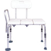 Compass Health: ProBasics Transfer Bench, 300 lb Weight Capacity, Sold 2/cs - BSTB Front View