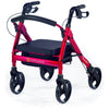 Comodita: Piccola Walker Rollator - COM 600 Hot Pink Front side view