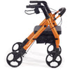 Comodita: Piccola Walker Rollator - COM 600 orange side view