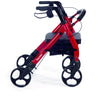 Comodita: Piccola Walker Rollator - COM 600 Hot pink side view