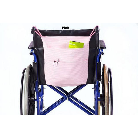 Granny Jo Products: Rear Hanging Wheel Chair Bag - 1205 - Pink Colour View