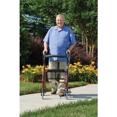 Graham Field: Lumex Walkabout Lite Four-Wheel Rollator - RJ4300P main