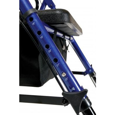 Graham Field: Lumex Set n' Go Height Adjustable Rollator -  RJ4700B