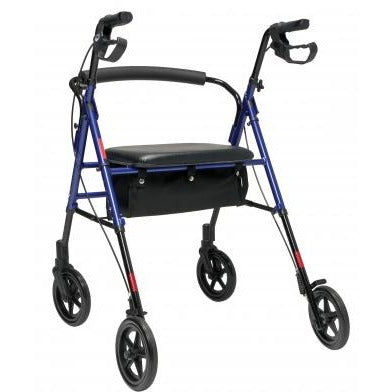 Graham Field: Lumex Set n' Go Wide Height Adjustable Rollator -  RJ4718R main