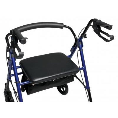 Graham Field: Lumex Set n' Go Wide Height Adjustable Rollator -  RJ4718R seat