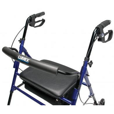 Graham Field: Lumex Set n' Go Wide Height Adjustable Rollator -  RJ4718R brakes