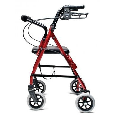 Graham Field: Lumex  Walkabout Lite Junior Rollator - RJ4301R side view