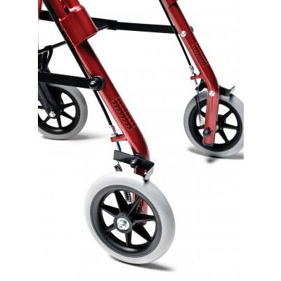 Graham Field: Lumex  Walkabout Lite Junior Rollator - RJ4301R  wheels