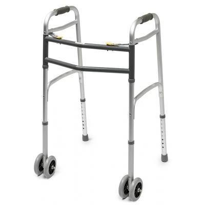 Graham Field:  Lumex Imperial Collection Dual Release X-Wide Folding Walker - 604070A
