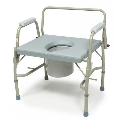 Graham Field: Lumex Imperial Collection 3-in-1 Steel Drop Arm Commode, 600 lb. Weight Capacity -6438A