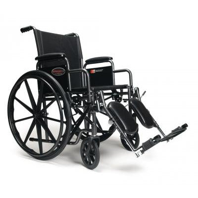 Graham Field: Everest & Jennings Advantage LX Vinyl Manual Wheelchair - 3H020100-350 main image