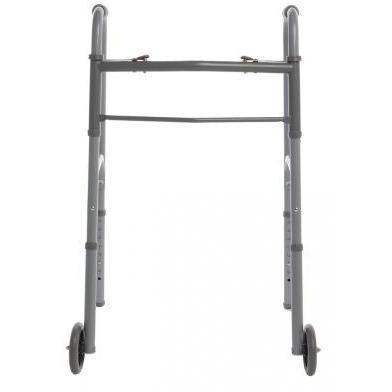 Graham Field: Lumex Folding Walker With Wheels Dual Rel - 716280A-4