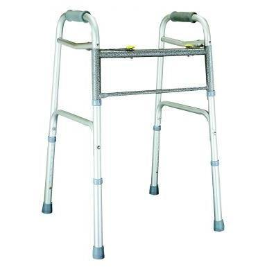 Graham Field: Lumex Dual-Release Folding Walker - 616070A