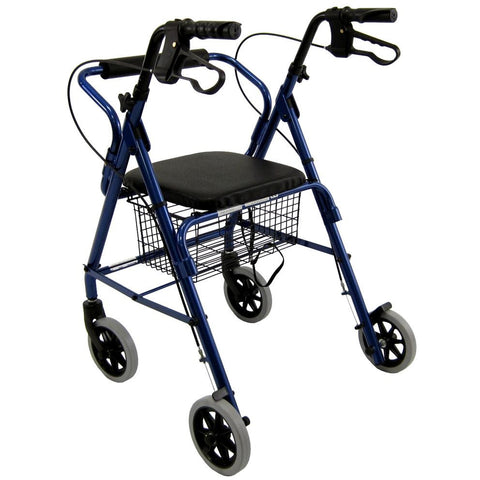 Karman Healthcare: Walker Rollator - R-4100N back view