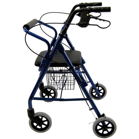 Karman Healthcare: Walker Rollator - R-4100N side view