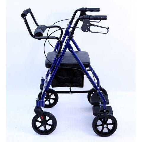 Karman Healthcare: Walker Rollator - R-4602-T side view
