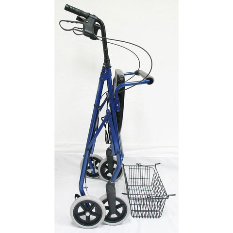 Karman Healthcare: Walker Rollator - R-4700 folded