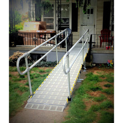 Roll-A-Ramp: Aluminium Handrails - Loop End Design