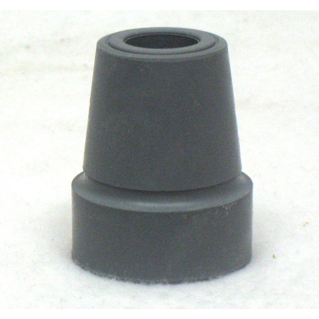"New Solutions: Crutch/Utility Tip Fits 1"" Tube Gray - RB171"