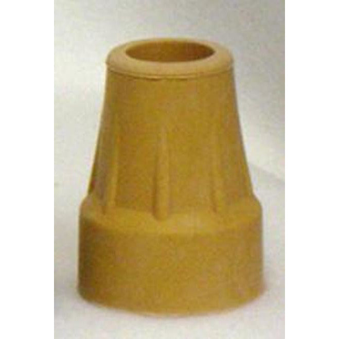 "New Solutions: Crutch/Utility Tip Fits 7/8"" Tube Tan - RB172"