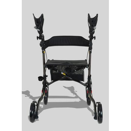 Ergoactives: Roller-Go Double Foldable Walker With Forearm Support - A042 - Back View