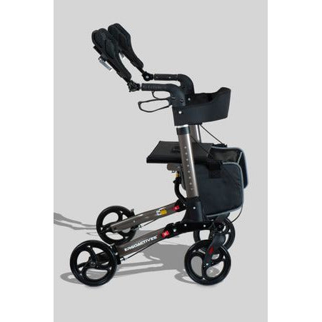 Ergoactives: Roller-Go Double Foldable Walker With Forearm Support - A042 - Side View