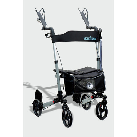 Ergoactives: Roller-Go Double Foldable Walker With Forearm Support - A042 - Actual Image