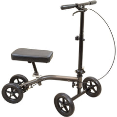 Compass Health: Roscoe Medical E-SERIES KNEE SCOOTER, STERLING GREY - ROS-KS2