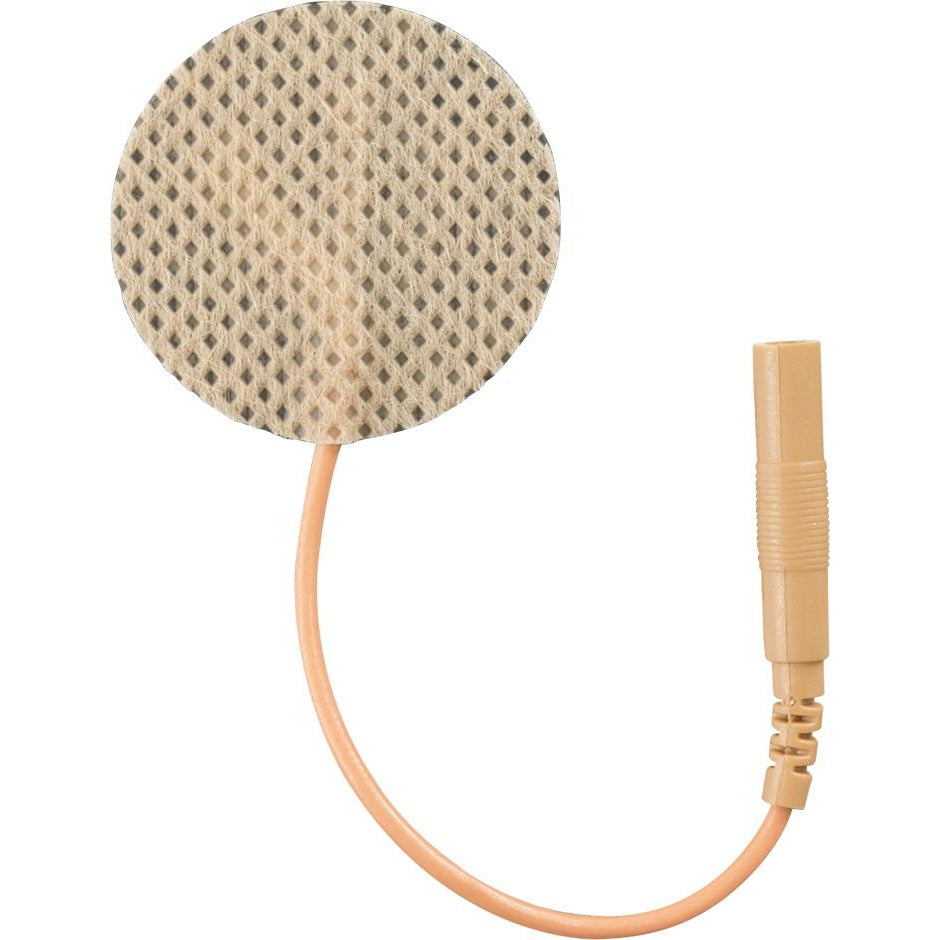 Compass Health: Electrode - Foil - 1.25 - Tan Cloth - EF1200TC2