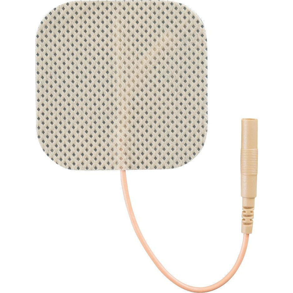 "Compass Health: InTENSity Self-Adhesive Electrodes, 2"" x 2"" Tan Cloth - EP2020TC2-INT"
