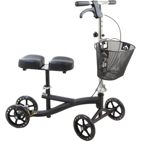 Compass Health: Roscoe Knee Scooter (Black) - ROS-KSB