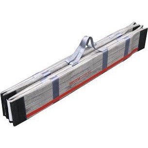 DecPac Ramps Multipurpose Portable Wheelchair Ramp with Edge Barrier