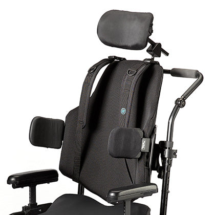 Ride Designs: Java Back for Wheelchairs - Side View
