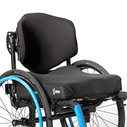 Ride Designs: Java Back for Wheelchairs - Actual Image
