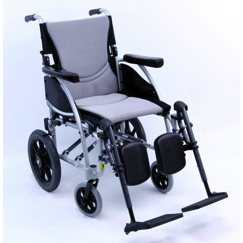 Karman Healthcare :Transport - Ergonomic  Wheelchair – S-ERGO115-TP front view