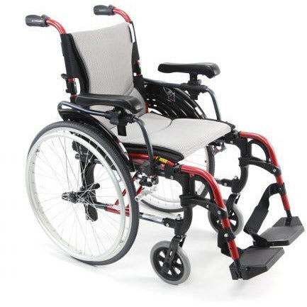 Karman Healthcare : S-ERGO  - Ultra Lightweight Wheelchair  – S-ERGO 305 front view