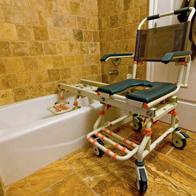 Shower buddy: TubBuddy Bathing and Toilet Transfer System