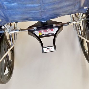 Safe T Mate: Wheelchair Anti-rollback Device - SM2-3 - Actual Image