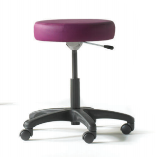 Graham Field: Hausted Lab Stool, D Rel, Alum Basel - 9702-10BFR-AL