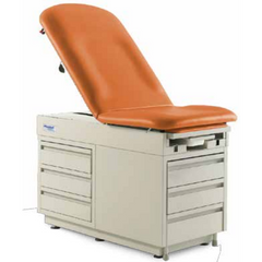 Graham Field: Hausted Exam Table with Outlet & Drawer -  4200-DW-AL