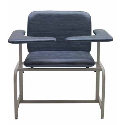 Graham Field: Lumex Bariatric Phlebotomy Chair  with Dual Flip Arm- 6200DA-AL