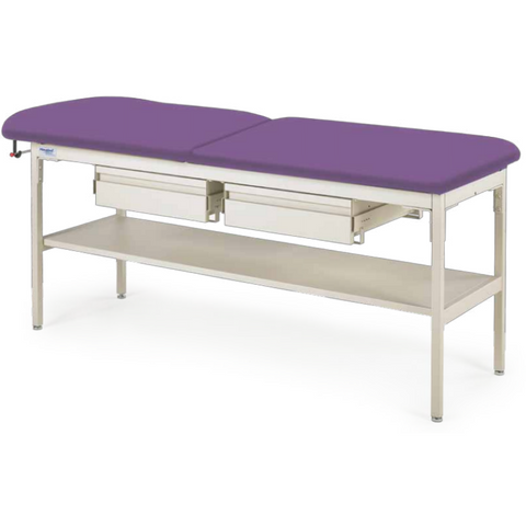 Graham Field: Hausted Trmt Table, Flat Top with Drawers - 4103-DD-AL